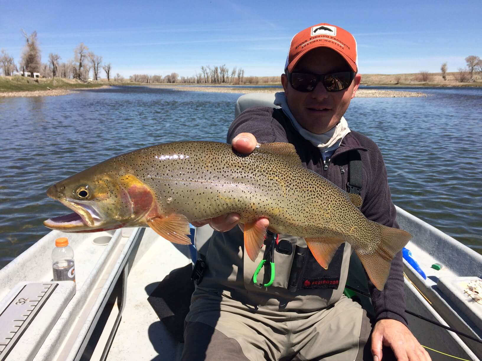 Upper green river wyoming park city fly fishing company for Fishing in the wind