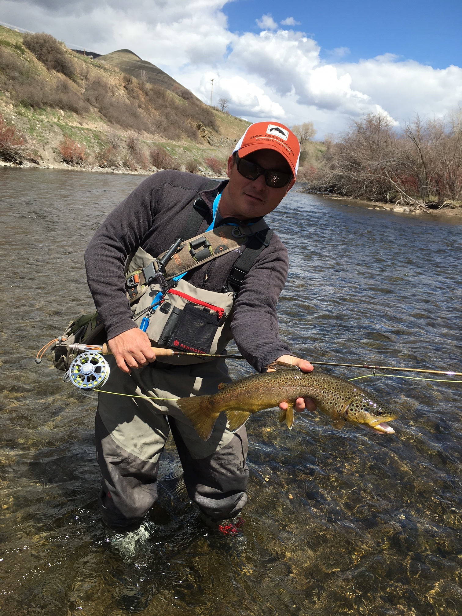 Lower provo river park city fly fishing company for Provo river fishing report
